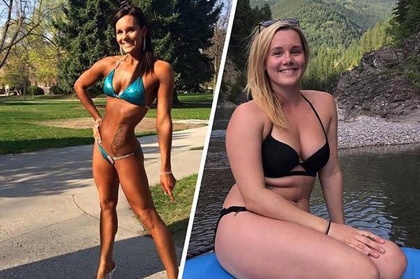 Американка бросила бодибилдинг и набрала 11 килограммов, чтобы стать счастливее