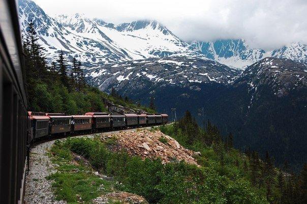 Самые живописные железнодорожные маршруты планеты!. Самые живописные железнодорожные маршруты планеты!