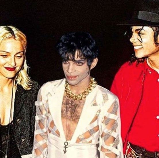 Мадонна опубликовала раритетное фото с покойными Джексоном и Принцем