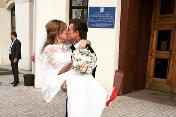 Долгожданное торжество: свадьба Влада Топалова и Регины Тодоренко состоялась