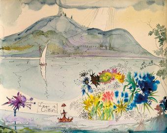 В Плёсе откроется уникальная выставка картин Сальвадора Дали