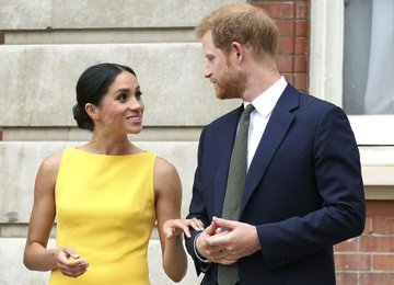 Стало известно, что принц Гарри подарил Меган Маркл на день рождения