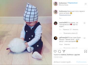 Татьяна Брухунова опубликовала фото модного сына Петросяна